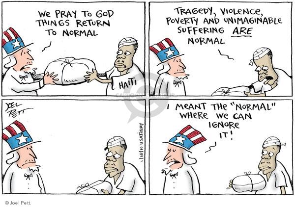 Joel Pett  Joel Pett's Editorial Cartoons 2010-01-18 return