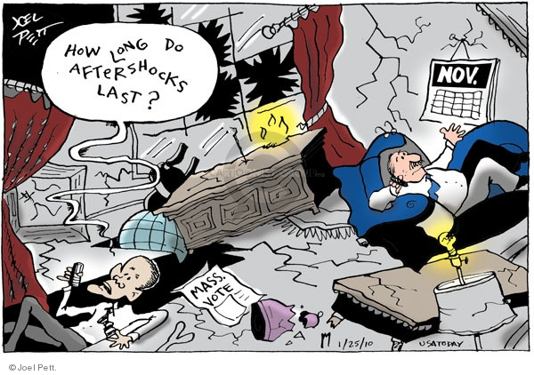 Cartoonist Joel Pett  Joel Pett's Editorial Cartoons 2010-01-25 Massachusetts
