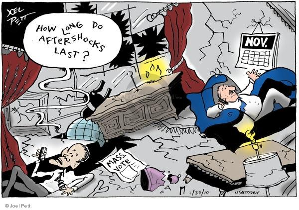 Cartoonist Joel Pett  Joel Pett's Editorial Cartoons 2010-01-25 senatorial