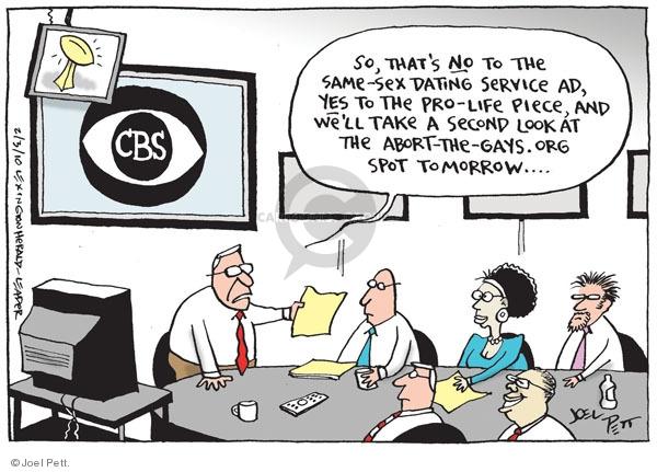 Cartoonist Joel Pett  Joel Pett's Editorial Cartoons 2010-02-03 political advertising