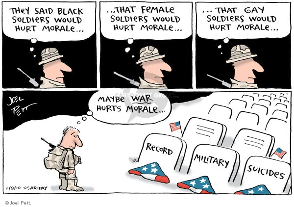 Cartoonist Joel Pett  Joel Pett's Editorial Cartoons 2010-02-08 equality