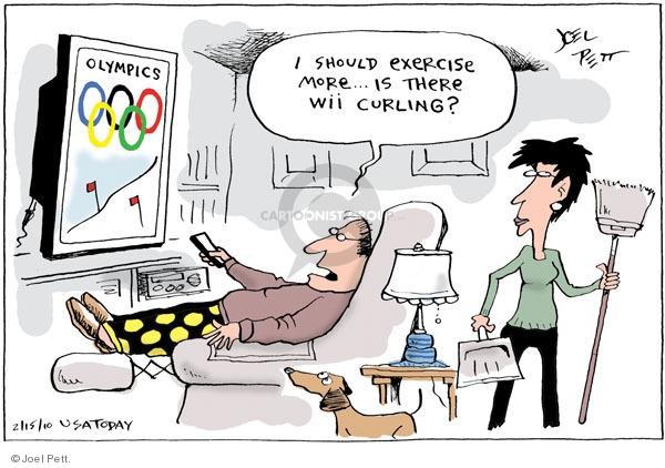 Joel Pett  Joel Pett's Editorial Cartoons 2010-02-15 2010 Olympics