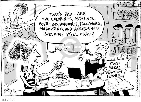 Cartoonist Joel Pett  Joel Pett's Editorial Cartoons 2010-03-10 financial