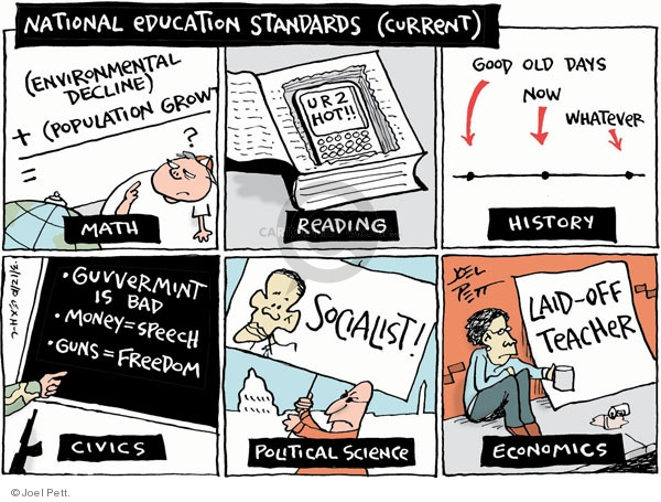 Joel Pett  Joel Pett's Editorial Cartoons 2010-03-12 speech