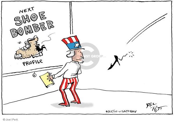 Cartoonist Joel Pett  Joel Pett's Editorial Cartoons 2010-03-15 plot