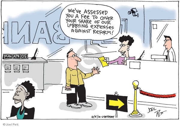 Cartoonist Joel Pett  Joel Pett's Editorial Cartoons 2010-04-05 oversight