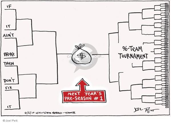 Joel Pett  Joel Pett's Editorial Cartoons 2010-04-06 number