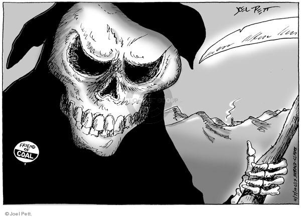 Joel Pett  Joel Pett's Editorial Cartoons 2010-04-07 mining safety