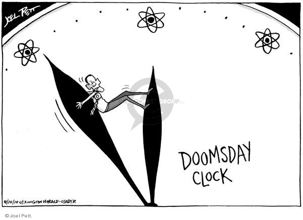Cartoonist Joel Pett  Joel Pett's Editorial Cartoons 2010-04-10 nuclear proliferation