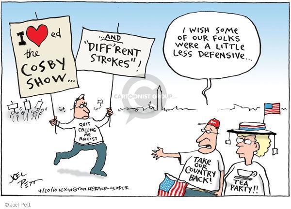 Joel Pett  Joel Pett's Editorial Cartoons 2010-04-20 racism