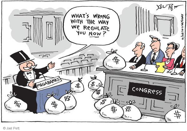 Cartoonist Joel Pett  Joel Pett's Editorial Cartoons 2010-04-26 oversight