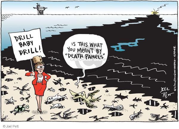 Cartoonist Joel Pett  Joel Pett's Editorial Cartoons 2010-05-02 meant