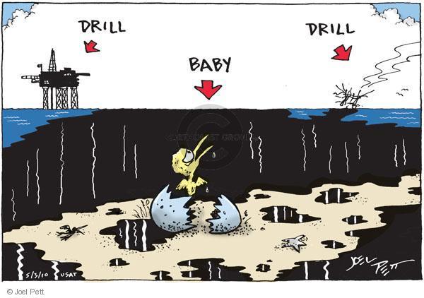Joel Pett  Joel Pett's Editorial Cartoons 2010-05-03 environment