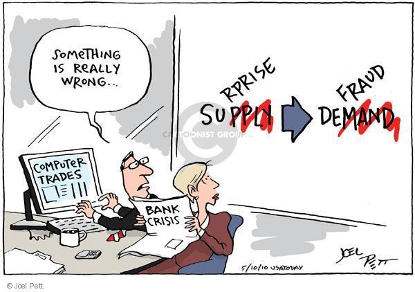 Joel Pett  Joel Pett's Editorial Cartoons 2010-05-10 supply
