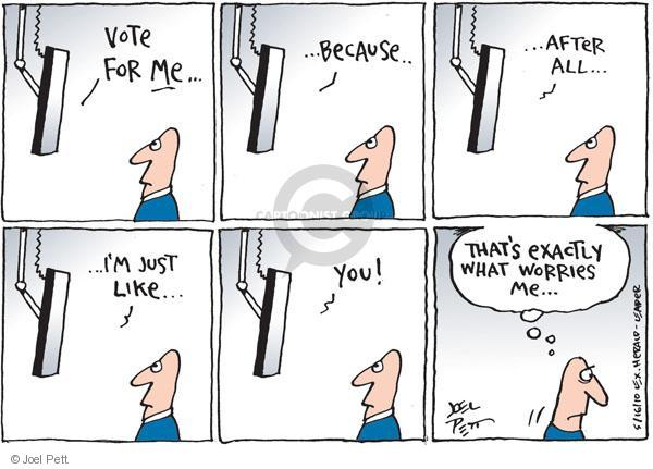 Joel Pett  Joel Pett's Editorial Cartoons 2010-05-16 worry