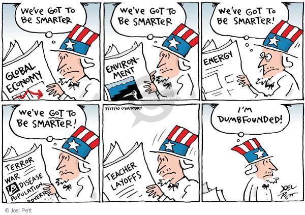 Joel Pett  Joel Pett's Editorial Cartoons 2010-05-17 education