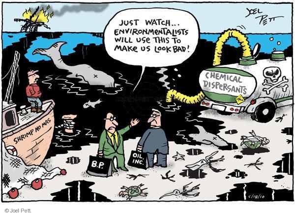 Joel Pett  Joel Pett's Editorial Cartoons 2010-05-18 environment