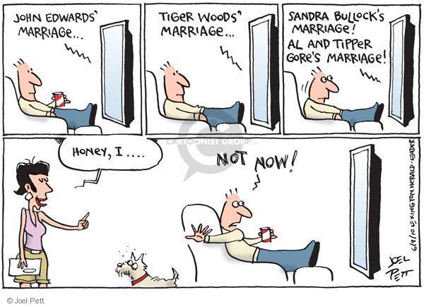 Joel Pett  Joel Pett's Editorial Cartoons 2010-06-09 relationship