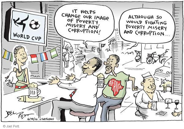 Cartoonist Joel Pett  Joel Pett's Editorial Cartoons 2010-06-14 political corruption