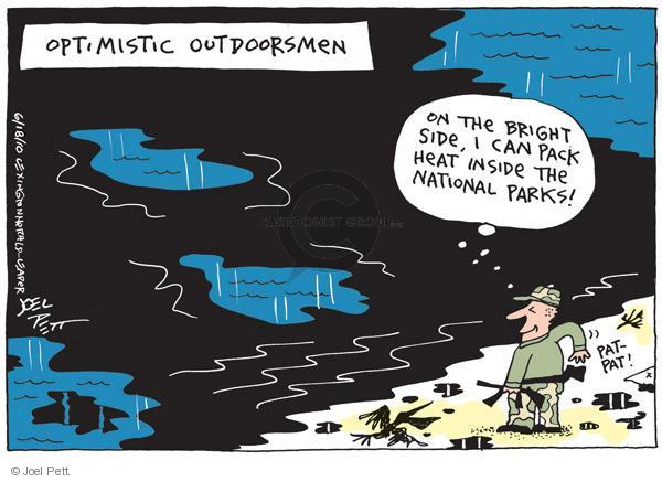Joel Pett  Joel Pett's Editorial Cartoons 2010-06-18 Pat