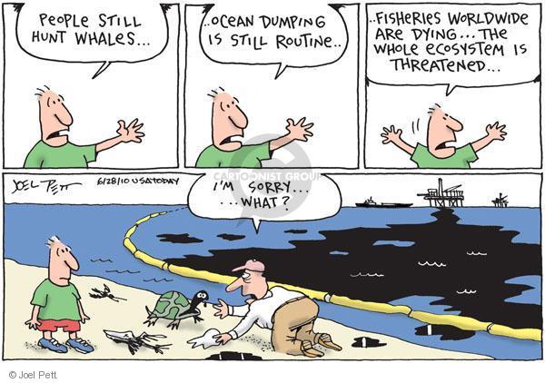 Joel Pett  Joel Pett's Editorial Cartoons 2010-06-28 turtle