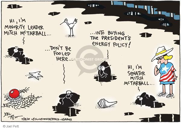 Cartoonist Joel Pett  Joel Pett's Editorial Cartoons 2010-07-08 alternative energy