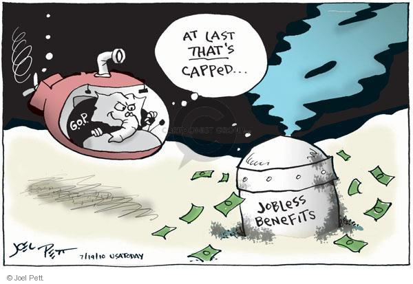 Joel Pett  Joel Pett's Editorial Cartoons 2010-07-19 leak