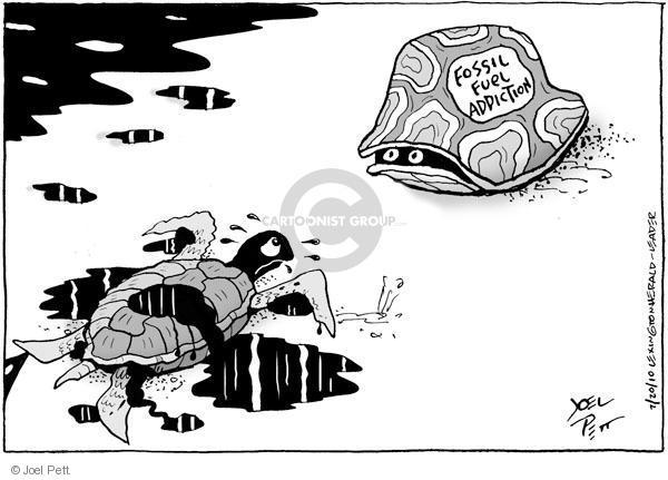 Joel Pett  Joel Pett's Editorial Cartoons 2010-07-20 turtle