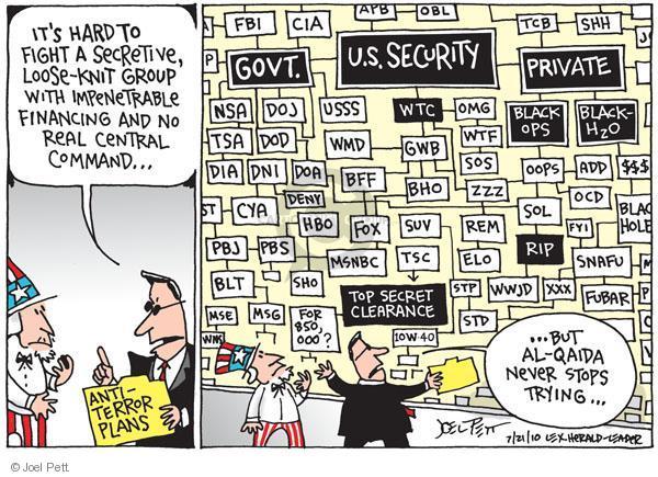 Cartoonist Joel Pett  Joel Pett's Editorial Cartoons 2010-07-21 rip