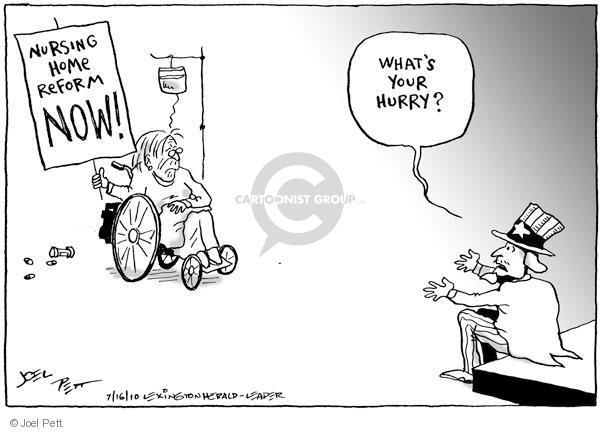 Joel Pett  Joel Pett's Editorial Cartoons 2010-07-16 reform