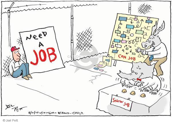 Cartoonist Joel Pett  Joel Pett's Editorial Cartoons 2010-08-11 strategy