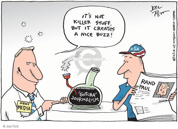 Cartoonist Joel Pett  Joel Pett's Editorial Cartoons 2010-08-12 killer