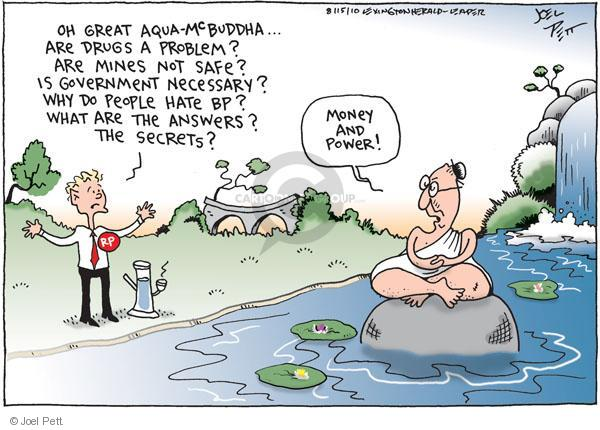 Joel Pett  Joel Pett's Editorial Cartoons 2010-08-15 answer