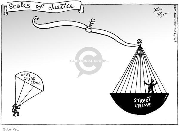 Joel Pett  Joel Pett's Editorial Cartoons 2010-08-31 justice system