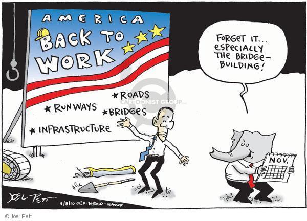 Joel Pett  Joel Pett's Editorial Cartoons 2010-09-08 infrastructure