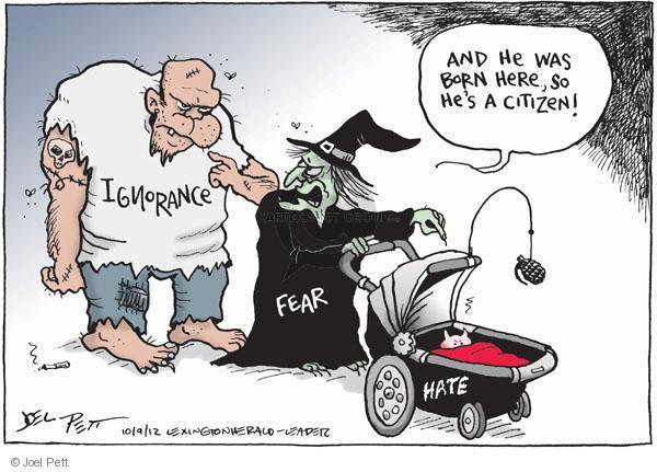 Cartoonist Joel Pett  Joel Pett's Editorial Cartoons 2010-09-12 born