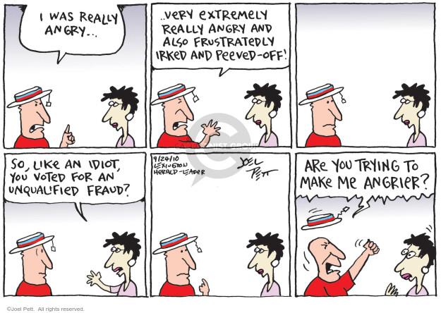 Joel Pett  Joel Pett's Editorial Cartoons 2010-09-24 voter fraud