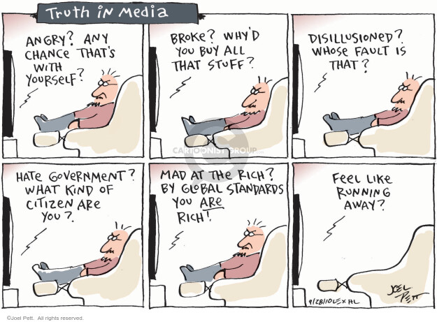 Joel Pett  Joel Pett's Editorial Cartoons 2010-09-28 mad
