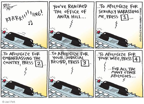 Joel Pett  Joel Pett's Editorial Cartoons 2010-10-21 telephone