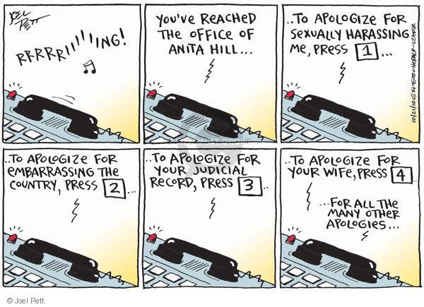 Joel Pett  Joel Pett's Editorial Cartoons 2010-10-21 telephone