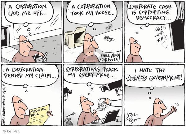 Cartoonist Joel Pett  Joel Pett's Editorial Cartoons 2010-10-22 political advertising