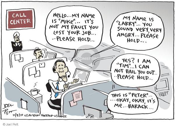 Joel Pett  Joel Pett's Editorial Cartoons 2010-11-09 answer