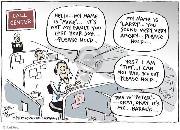 Joel Pett  Joel Pett's Editorial Cartoons 2010-11-09 answer