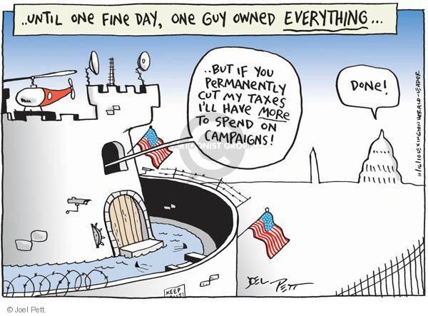 Cartoonist Joel Pett  Joel Pett's Editorial Cartoons 2010-11-16 tax