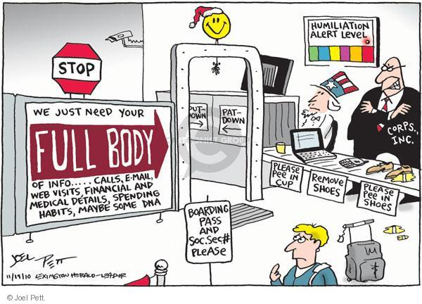 Joel Pett  Joel Pett's Editorial Cartoons 2010-11-19 Pat