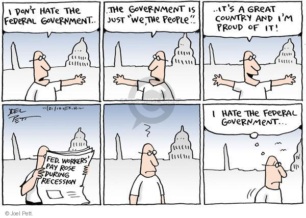 Joel Pett  Joel Pett's Editorial Cartoons 2010-11-21 compensation