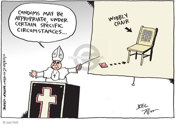 Joel Pett  Joel Pett's Editorial Cartoons 2010-11-23 under