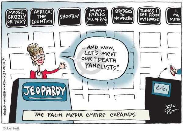 Joel Pett  Joel Pett's Editorial Cartoons 2010-11-28 political media