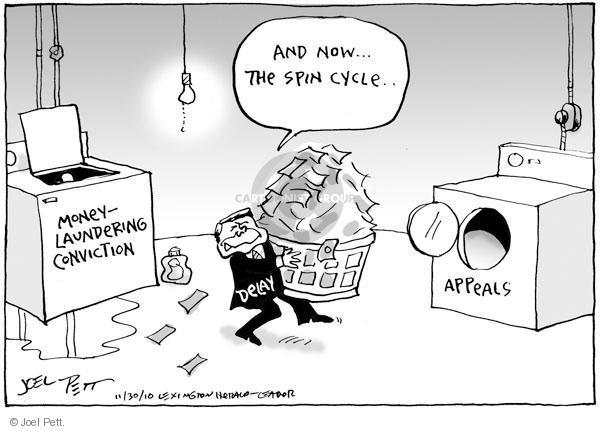 Cartoonist Joel Pett  Joel Pett's Editorial Cartoons 2010-11-30 delay