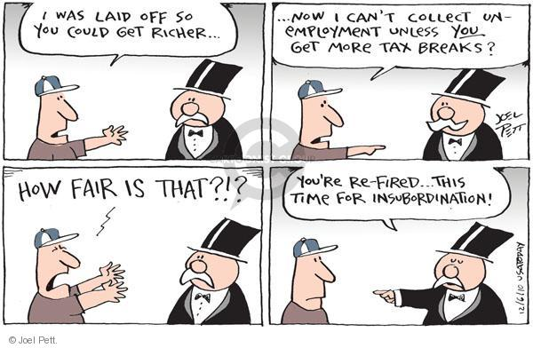 Joel Pett  Joel Pett's Editorial Cartoons 2010-12-06 economic